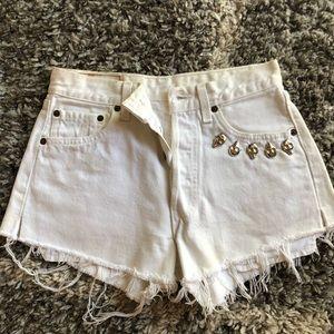 Custom Levi Shorts